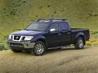Clean CARFAX. 2017 Nissan Frontier 4WD 4.0L V6 DOHC