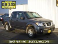 Gun Metallic 2017 Nissan Frontier SV 4WD 5-Speed