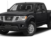 This 2017 Nissan Frontier 4dr Crew Cab 4x2 SV V6