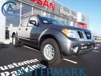 2017 Nissan Frontier SV 16 Alloy Wheels, ABS brakes,