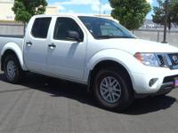 White 2017 Nissan Frontier SV 4WD 5-Speed Automatic