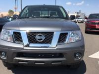 Options:  2017 Nissan Frontier Sv|4 Wheel Drive|Never