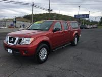 Frontier SV, 4D Crew Cab, 5-Speed Automatic with