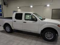Glacier White 2017 Nissan Frontier SV 4WD Automatic V6