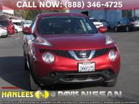 Options:  2017 Nissan Juke Sv|Red|Check Out This 2017