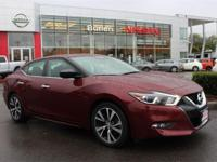 **NAVIGATION**. Nissan Certified, 4D Sedan, FWD, Coulis