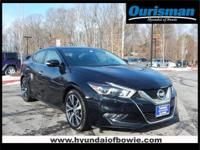 CARFAX One-Owner. Clean CARFAX. Black 2017 Nissan