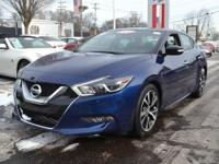 Check out this gently-used 2017 Nissan Maxima we