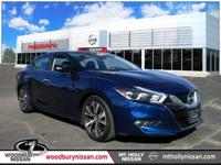 Clean CARFAX. Certified. Deep Blue Pearl 2017 Nissan