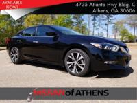 Come see this 2017 Nissan Maxima . Its Variable
