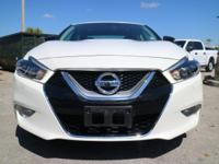 Options:  2017 Nissan Maxima Sr|Pearl White/Charcoal|V6
