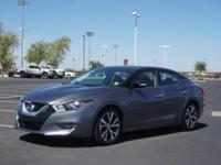 This 2017 Nissan Maxima is complete with top-features