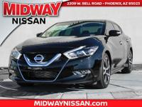 2017 Nissan Maxima Platinum 30/21 Highway/City MPG