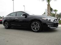 The ever-popular Nissan Maxima is lowered, sculpted,