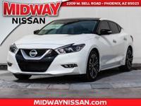 2017 Nissan Maxima Platinum 30/21 Highway/City