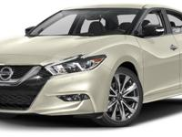 This 2017 Nissan Maxima 4dr SR 3.5L features a 3.5L V6