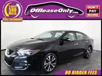 Options:  2017 Nissan Maxima 3.5 Sv Fwd|Super