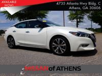 Check out this 2017 Nissan Maxima PLATINUM. Its