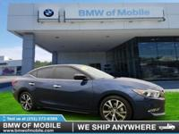 We are excited to offer this 2017 Nissan Maxima. Your