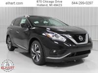 Options:  2017 Nissan Murano Platinum|Magnetic Black