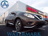 2017 Nissan Murano Platinum CVT with Xtronic, AWD,