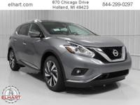 Options:  2017 Nissan Murano Platinum|Gun