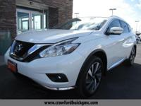 Come see this 2017 Nissan Murano Platinum. Its Variable