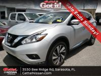 New Arrival! CARFAX 1-Owner! This 2017 Nissan Murano