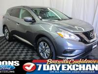 **NAVIGATION, BLUETOOTH, REMOTE START** 2017 Murano S