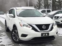 2017 Nissan Murano S Pearl White Rear Back Up Camera,