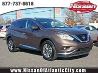Come see this 2017 Nissan Murano SL. Its Variable