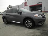 Gun Metallic 2017 Nissan Murano SL FWD CVT with Xtronic