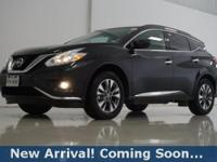 2017 Nissan Murano SV in Magnetic Black Metallic, This