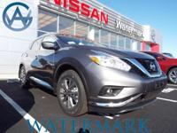 2017 Nissan Murano SL CVT with Xtronic, AWD, ABS