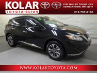 2017 Murano SV, 3.5L V6, AWD, New Arrival! Stop in and