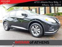 Come see this 2017 Nissan Murano SV. Its Variable