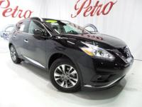 2017 Nissan MuranoCARFAX One-Owner. Clean CARFAX.Power