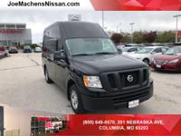Clean CARFAX. Black 2017 Nissan NV2500 HD SV High Roof