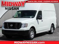 2017 Nissan NV2500 HD SV  Options:  3.36 Axle Ratio|17