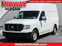 2017 Nissan NV2500 HD SV  Options:  4 Speakers|Am/Fm
