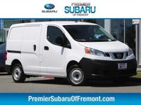 Options:  2017 Nissan Nv200 S 4D Cargo Van|2