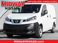 2017 Nissan NV200 S 26/24 Highway/City MPG  Options: