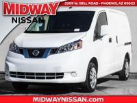 2017 Nissan NV200 SV 26/24 Highway/City MPG  Options: