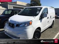 Options:  2017 Nissan Nv200 Sv|White|Bluetooth Wireless