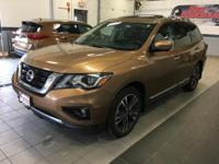 The Nissan Pathfinder. Similar to Nissan's Rogue, but a
