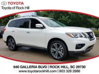 We are excited to offer this 2017 Nissan Pathfinder.