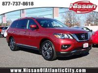 Look at this 2017 Nissan Pathfinder Platinum. Its