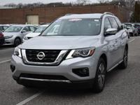 Check out this gently-used 2017 Nissan Pathfinder we
