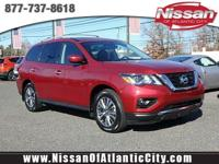 Look at this 2017 Nissan Pathfinder SL. Its Variable