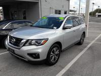 The Nissan Pathfinder S offers a fair amount of utility
